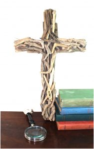 Holy Cross Driftwood Wall Hanging Christian Drift Wood Art