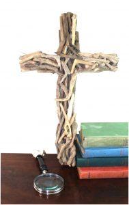 Holy Cross Driftwood Wall Hanging Christian Drift Wood Art