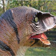 Life Size Velociraptor Dinosaur Statue Theme Park Mini Golf or Home Decor Scultpture