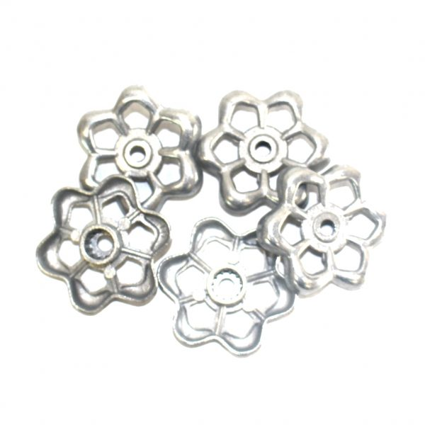Old Style Faucet Handles w Spokes for Lighting Parts Industrial Hardware 5pcs
