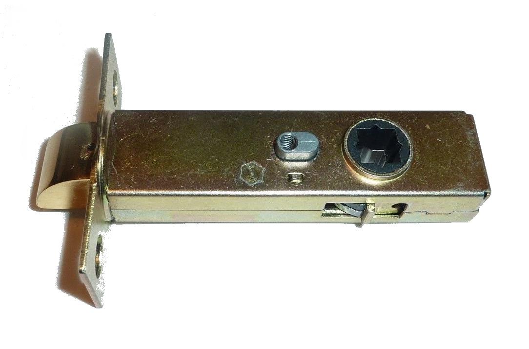 SOLID BRASS Latch Set for Door Hardware 2 3/8″ Backset 1