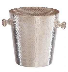 STUNNING Hammered Finish Wine Cooler, Great for Kitchen or Garden Dining