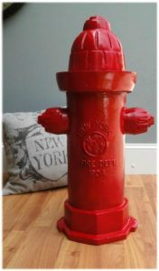 Antique Fire Hydrant Replica Full Size Heavy Casting Dated 1904 Vintage Style New