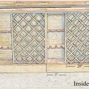 12' Victorian Mahogany Antique Replica Candy or Soda Counter