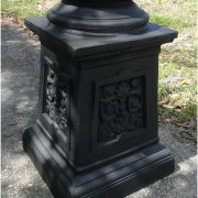 Outdoor 5 Arm Pole Light Victorian Replica Vintage Commercial or Home Classic 12' Tall