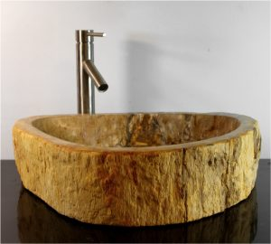Petrified Wood Basin Sink Vessel Bathroom Counter Top By The Kings Bay vw10