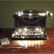 Firefly LED Light String on Bendable Copper Wire Battery Operated
