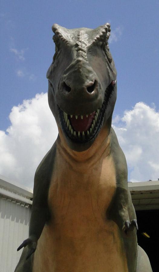 GIANT LIFESIZE T Rex Dinosaur Sculpture IN STOCK, Tyrannosaurus Museum Trade Show statue
