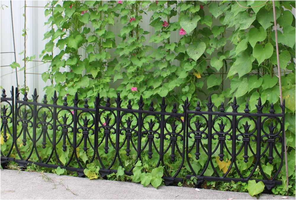 Marvelous ... Victorian Garden Fence Heavy Antique Style Old English Lawn Edging  Aluminum ...