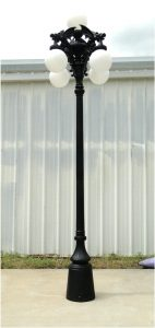 Gargoyle Giant Pole Light with Five Shades Commercial or Home Garden Street