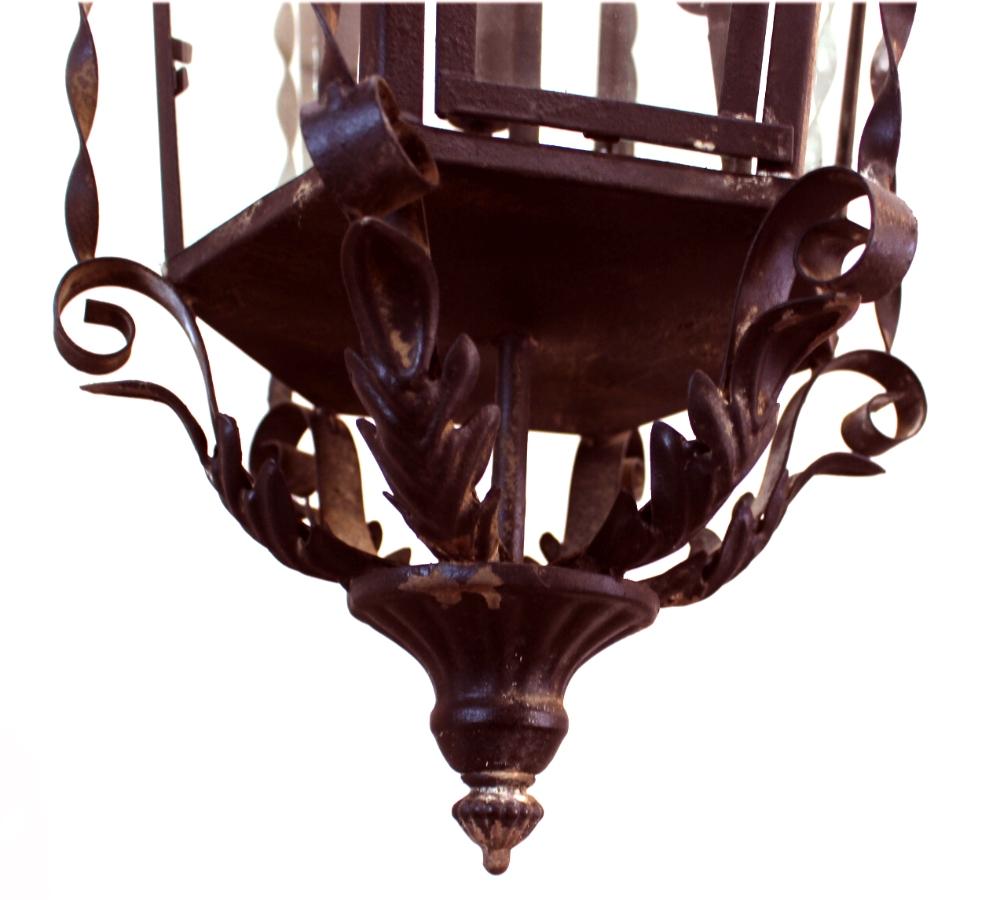 Vintage Revivals Light Fixture: Gothic Greek Revival Hanging Pendant Light Fixture