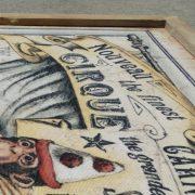 Circus Framed Wall Art 3pcs Antique French Cirque Art Work