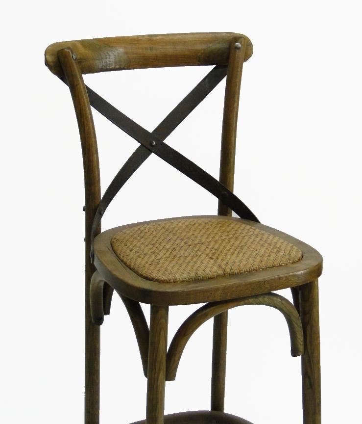 Wood Iron and Rattan Cane seat vintage old style oak Bar  : 771971fc c161 5155 b923 3f9f4d915f25 from thekingsbay.com size 739 x 864 jpeg 188kB