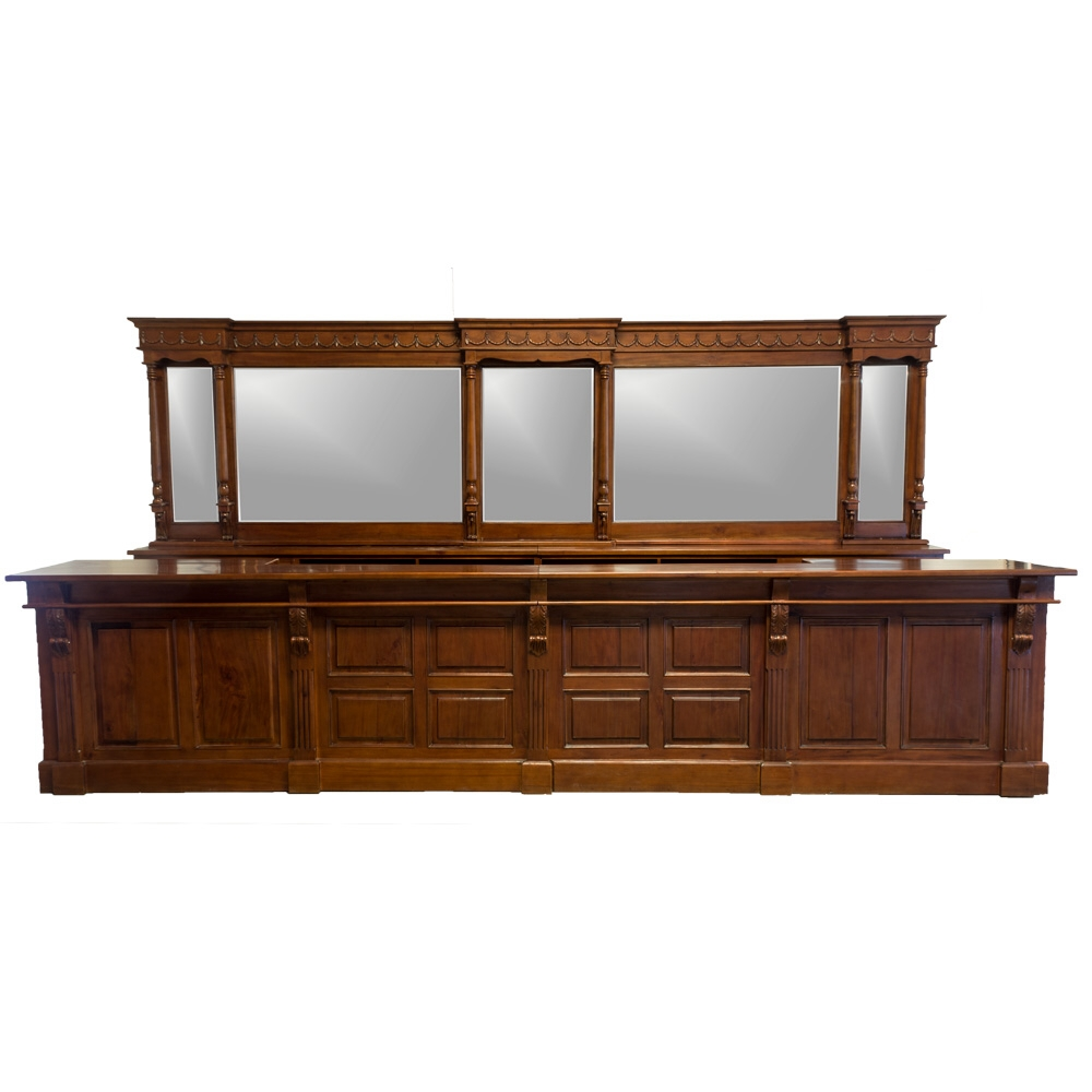 14 39 victorian mahogany mirrors back and front home bar tavern furniture the kings bay Home pub bar furniture