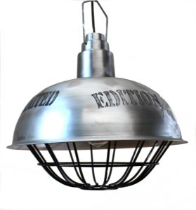 Big Industrial Pendant Dock Light Fixture, Old Style Factory Contract, Vintage Replica