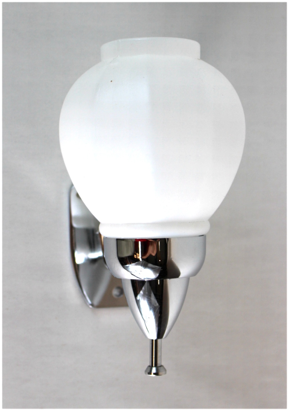 Old Fashioned Wall Mount Hand Soap Dispenser Chrome Satin