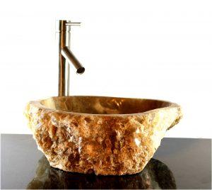 Onyx Marble Crystal Counter Top Bathroom Kitchen Vessel Sink Kings Bay ZZ9