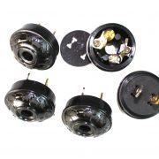 Acorn Bakelite Black Tiffany and Co Replica Lighting Handel Repair Parts Plugs (5pcs)