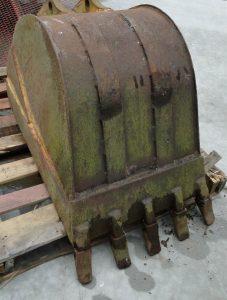 Huge Heavy IRON Digging BUCKET Front End Loader Factory Designer Furniture Idea