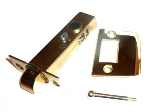 Solid Brass Face Plate Latch Set for Door Hardware 2 3/4″ Back Set