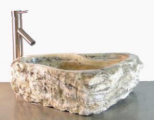 Freeform Onyx Gemstone Basin Vessel Sink Bathroom Kitchen Bar Semi Precious z7a