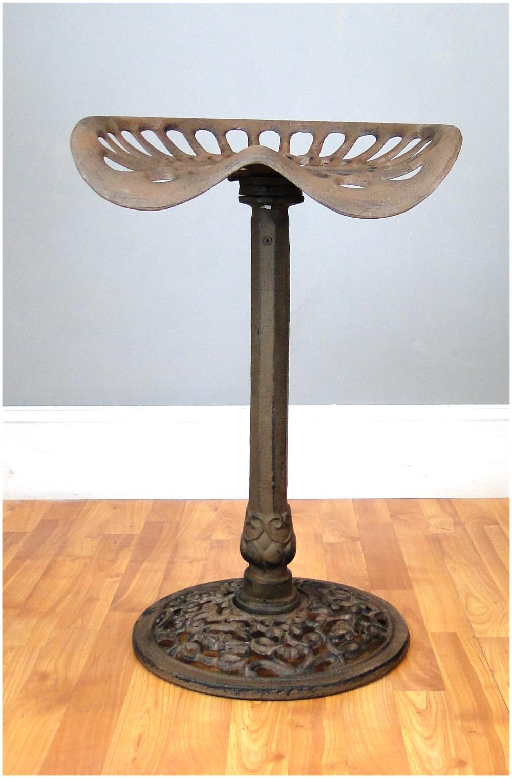 Cast Iron Swivel TRACTOR SEAT BARSTOOL bar stool, man cave furniture
