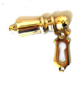 Brass Key Hole with Swivel Key Hole Cover, Lovely Design