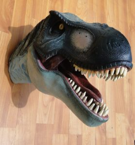Wall Mounted T Rex Trophy Head Jurassic Park Terra Nova Display