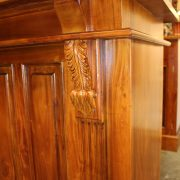 10' Mahogany Victorian Front & Back Bar Antique Replica Sale Tavern with Mirrors