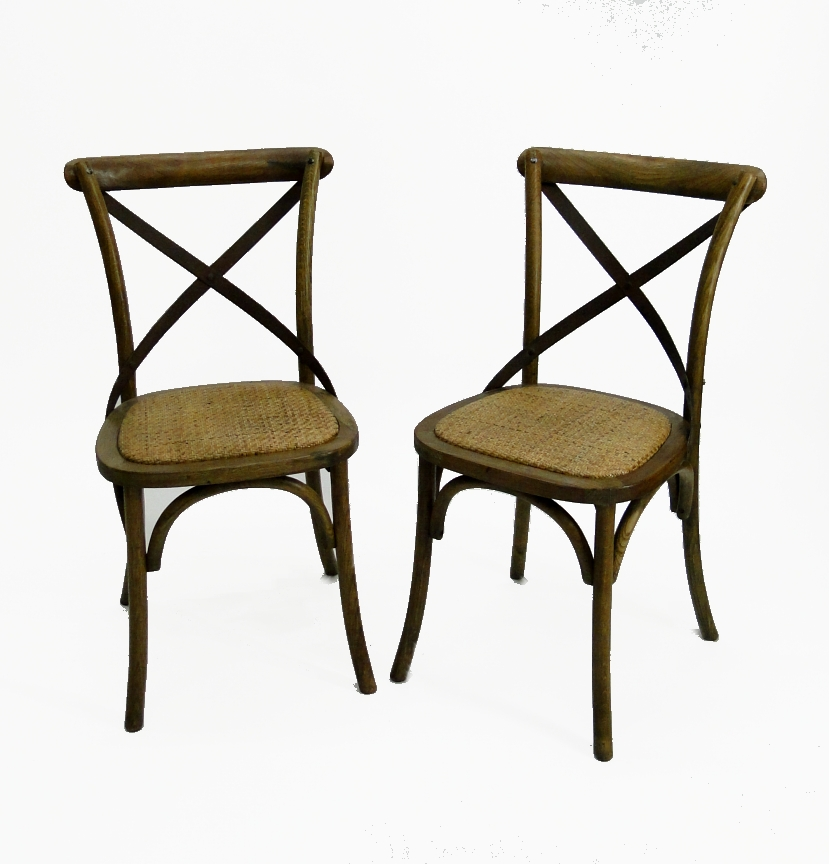 old vintage style wood iron and rattan cane seat chair pairs antique style the kings bay. Black Bedroom Furniture Sets. Home Design Ideas