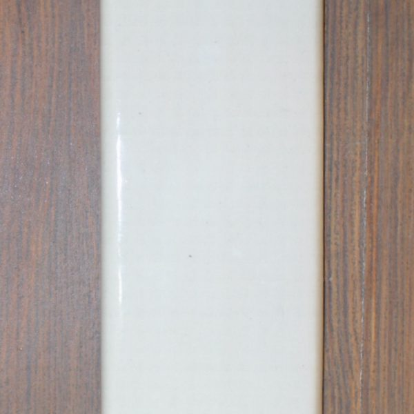 White Ceramic Push Plate Porcelain Vintage or Modern Style Commercial Hardware