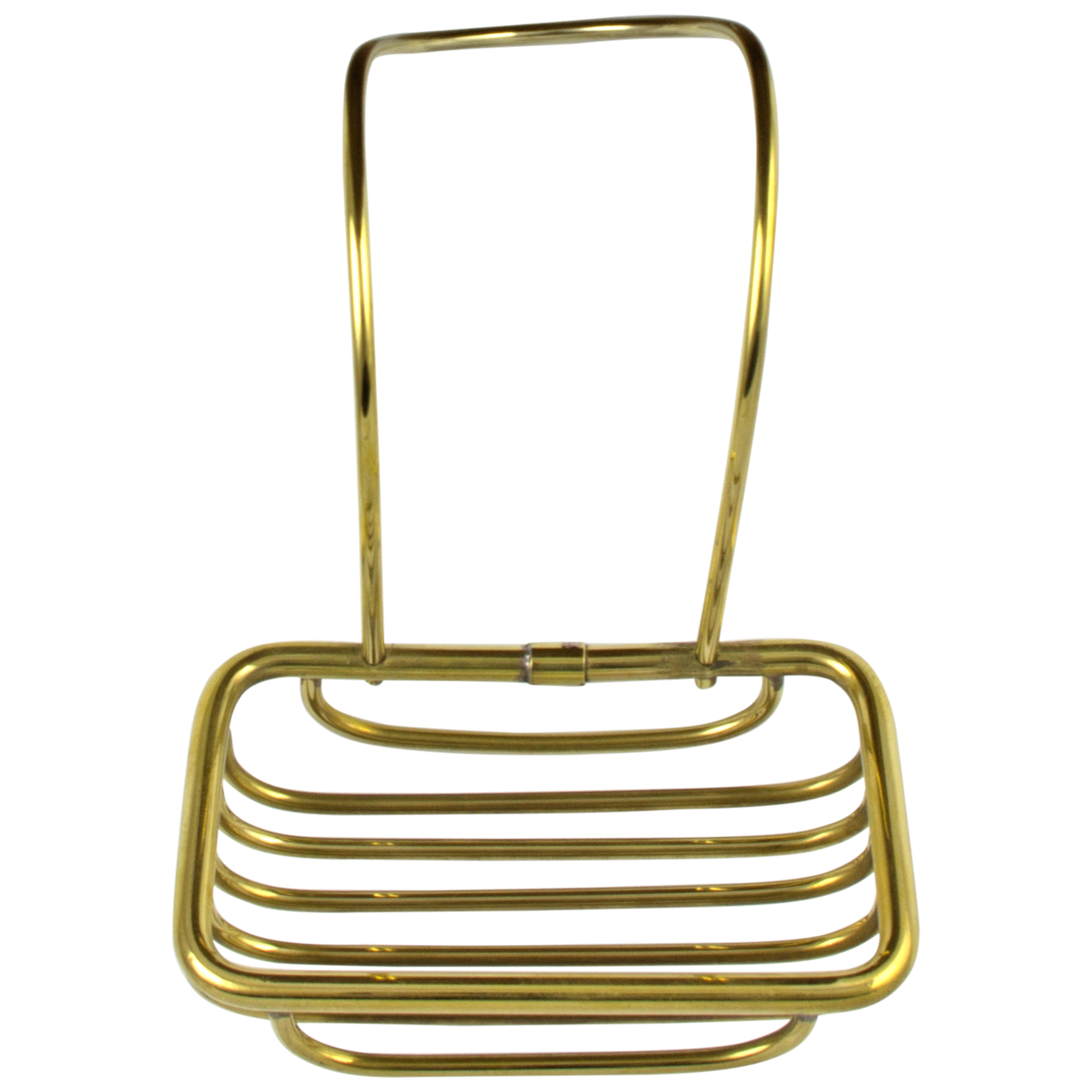 soap holder for over edge of clawfoot or any bath tub solid brass the kings bay. Black Bedroom Furniture Sets. Home Design Ideas