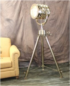 Big High Designer Movie Studio Spot Light Floor Lamp, AMAZING Hotel Mansion Style