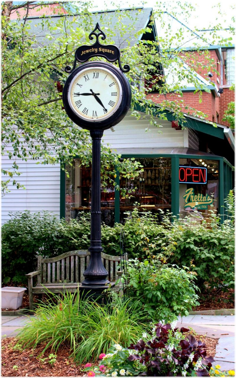 "Antique Victorian Style Main Street Tower Clock, New Commercial, ""The Baldwin"""