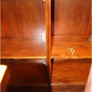 14' Victorian Mahogany Mirrors Back and Front Home Bar Tavern Furniture