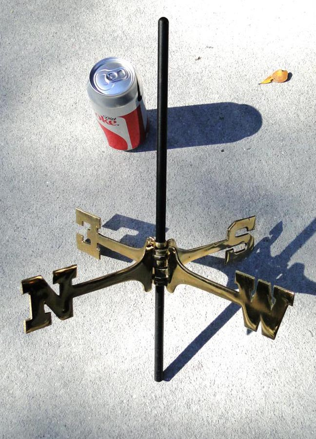 Old Fashioned Copper Light House WEATHERVANE, Shore, Beach Decor, Lighthouse