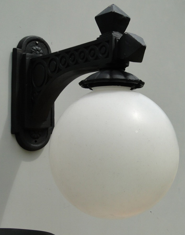 Victorian Street Wall Light Fixture Wired Vintage Sconce