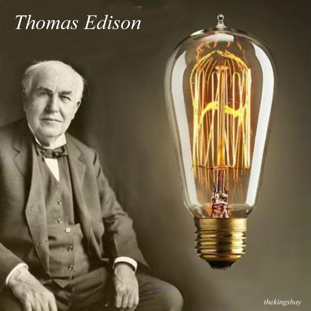Light Bulb Thomas Edison Failures Pictures To Pin On