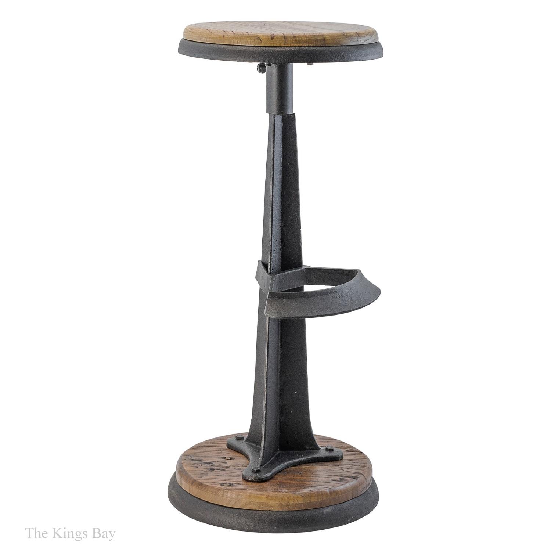 Industrial Cast Iron amp Wood Handsome Bar Stool Antique  : f7bb269b 28d7 519d 9d8c 9f651d215577 from thekingsbay.com size 1500 x 1500 jpeg 290kB