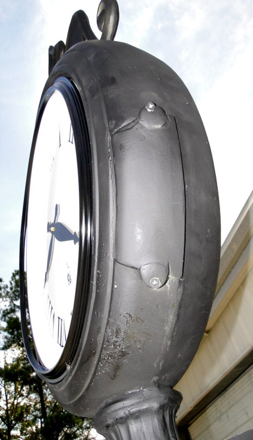 """Antique Victorian Style Main Street Tower Clock, New Commercial, """"The Baldwin"""""""