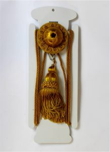 Gold Victorian Hanging Picture Wall Hook, Antique Repro, Rail, Painting, Art Hanger