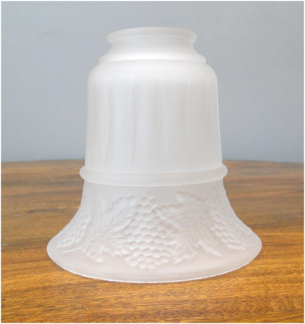 Satin Glass Replacement Shade For Chandeliers And Light