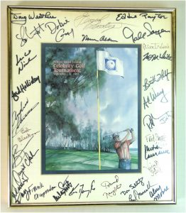 Hilton Head Island Celebrity Golf Tournament 1989 Famous Autographs