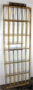 Iron Jail Cell Door Real Old Prison Cowboy Old West Movie Studio Prop