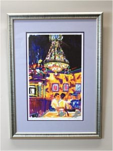 The Brick Oven, Hilton Head Island Signed Original Print by Candace Lovely