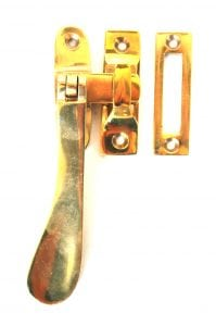 Lovely Brass Window Casement Lock Latch Set with Flat Handle