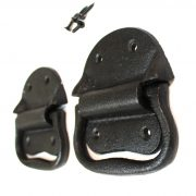 Cast Iron Bail Trunk Handle Set Antique Style at a Fraction Price (sold as pair)