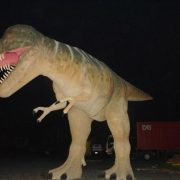 GIANT T Tyrannosaurus Rex Life Size Statue Jurassic Park Terra Nova Advertising