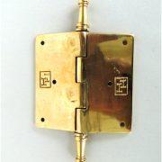 Victorian Dot Design 3.5″ Solid Brass Door Hinge Restoration New Hardware