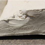 Bill Mack Original Bonded Sand 3d Golfer Alto Relief Signed Rare Wall Art